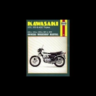 Kawasaki 250, 350 & 400 Triples 1972-79
