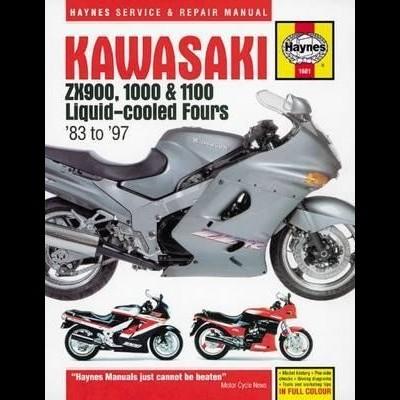 Kawasaki ZX900, 1000 & 1100 Liquid Fours 1983-87
