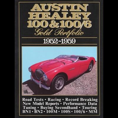 Austin Healey 100 & 100/6 Gold Portfolio 1952-59