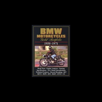 Bmw Motorcycles Gold Portfolio 1950-71