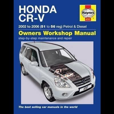Honda CR-V Petrol & Diesel 2002-06