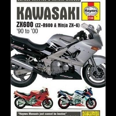 Kawasaki ZX600 & ZZR600 1990-00