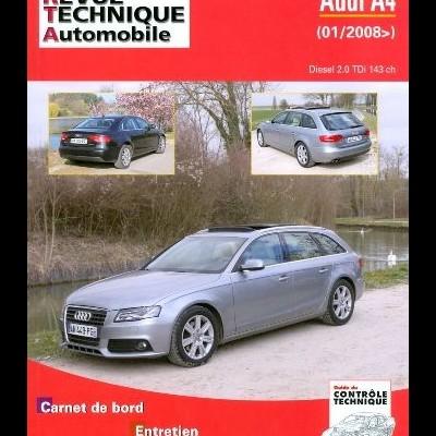Audi A4 III 2.0 Tdi 143 Ch 01/2008...(RTA757)