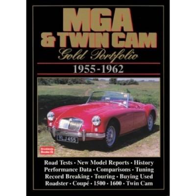 MG MGA & Twin Cam Gold Portfolio 1955-62