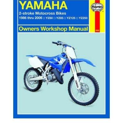 Yamaha YZ80, 85, 125 & 250 1986-06