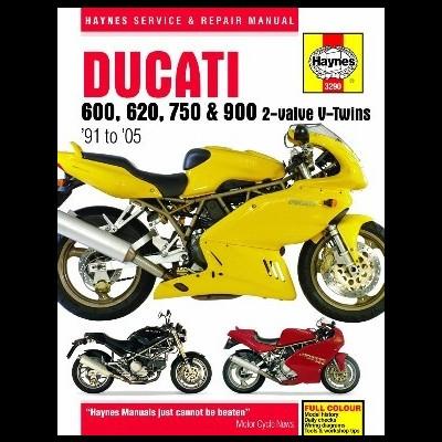 Ducati 600,620,750 & 900 V Twin 1991-05