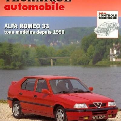 Alfa Romeo 33, 2 & 4 Roues Motrices 1990-96(RTA90)