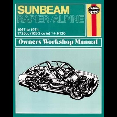 Sunbeam Alpine, Rapier & H120 1967-74