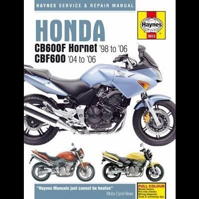 Honda CB600F Hornet & CBF600 1998-06