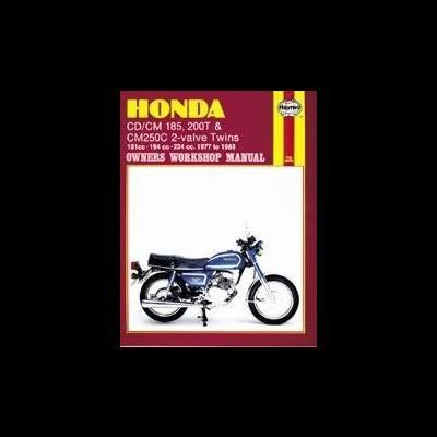 Honda CD/CM185, 200T,CM250C Twins 1977-85