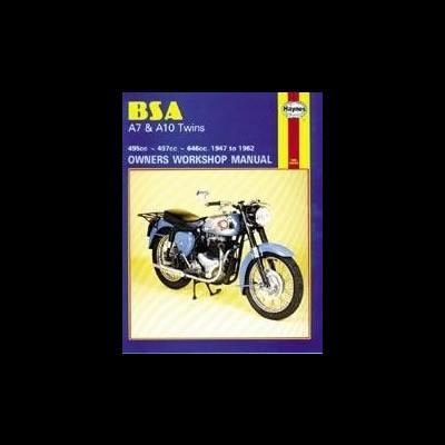 Bsa A7 & A10 Twins 1947-63