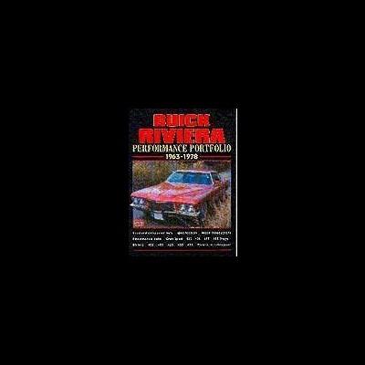 Buick Riviera Performance Portfolio 1963-78