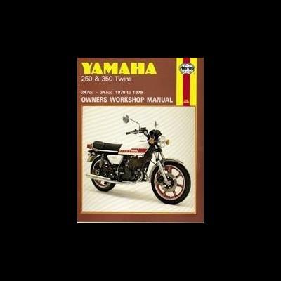 Yamaha 250 & 350 Twins 1970-79