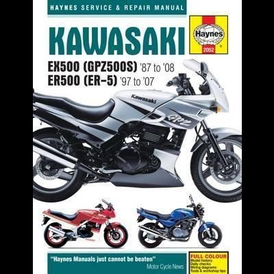 Kawasaki EX500 (GPZ500S) & ER500 (ER-5) 1987 -08