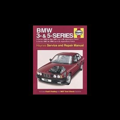Bmw 3-5 Series Petrol 1981-91