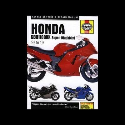 Honda CBR 1100XX Super Blackbird 1997-07
