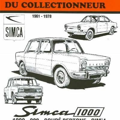 Simca 1000, 900, Bertone 1961-78 (AC35)
