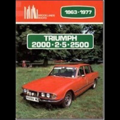 Triumph 2000 / 2.5 / 2500 1963-77
