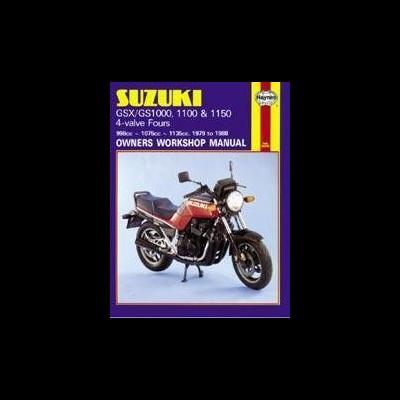 Suzuki GS/GSX1000, 1100, 1150 Fours 1979-88