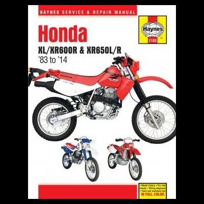 Honda XL/XR600R & XR650L/R 1983-14
