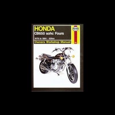 Honda CB 650 SOHC Fours 1978-84