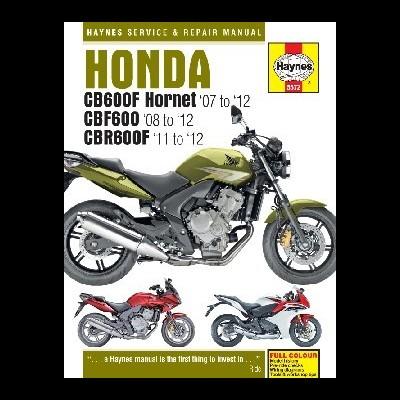 Honda CB600 Hornet, CBF600 & CBR600F 2007-12