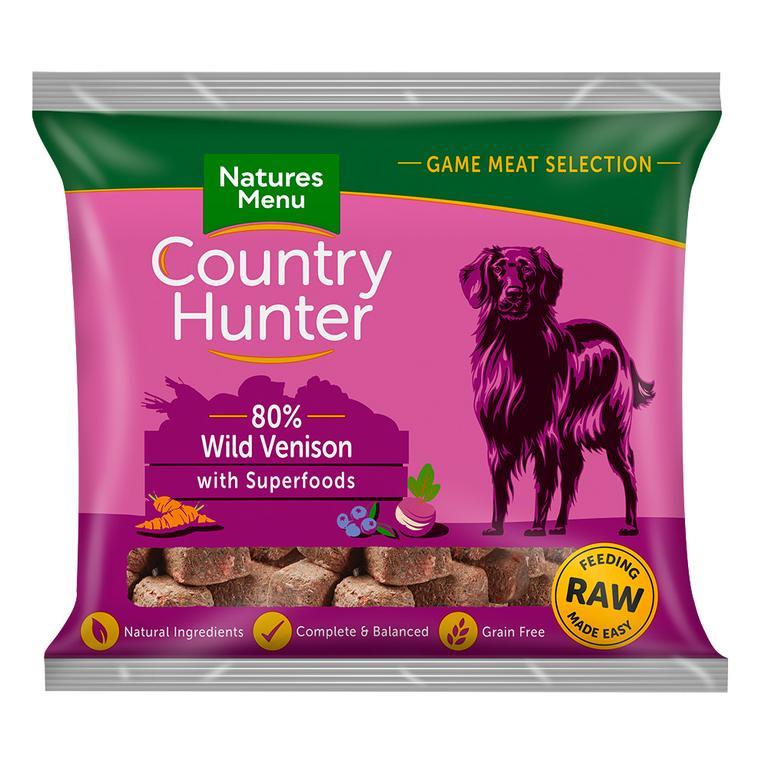 Country Hunter Cão / Nuggets congelados Veado / Sem Cereais