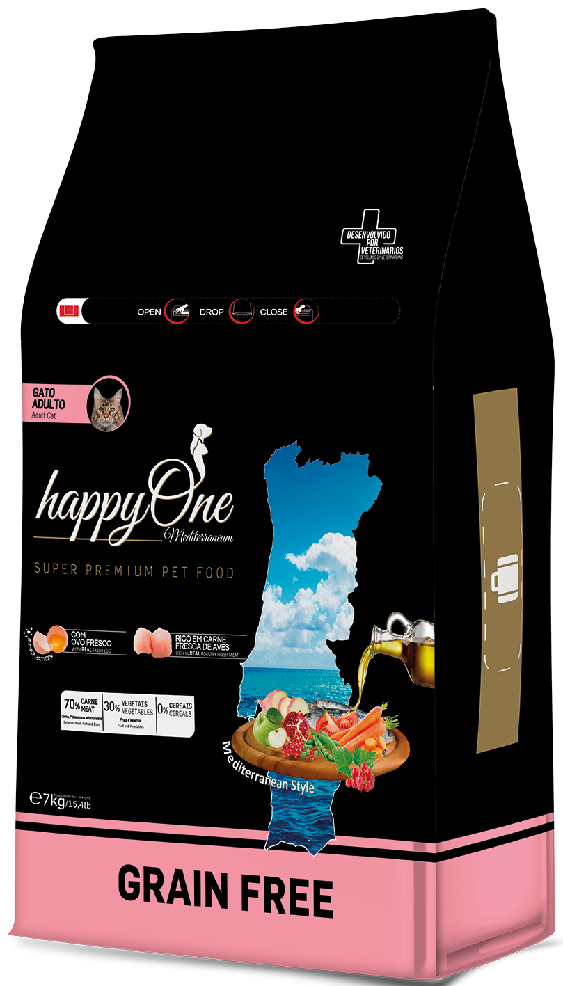 HAPPYONE MEDITERRANEUM GATO ADULTO