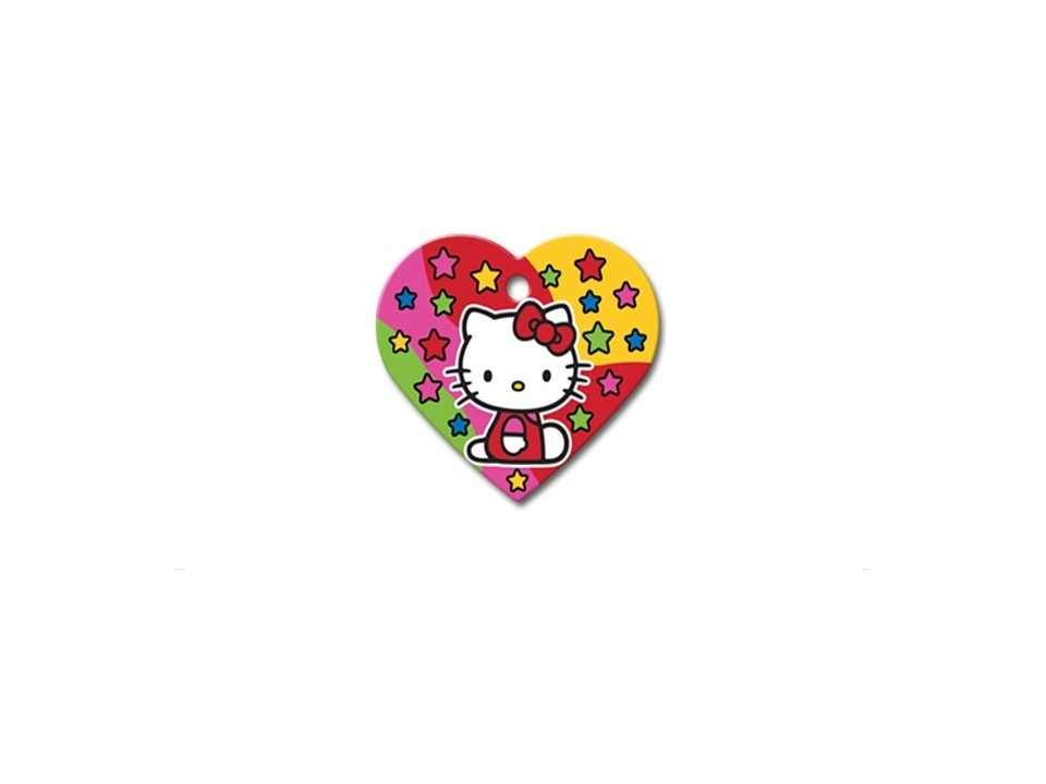 Coração Hello Kitty