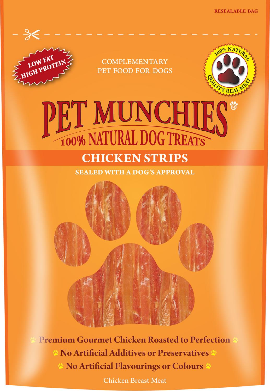 Pet Munchies Chicken Strips 90 g