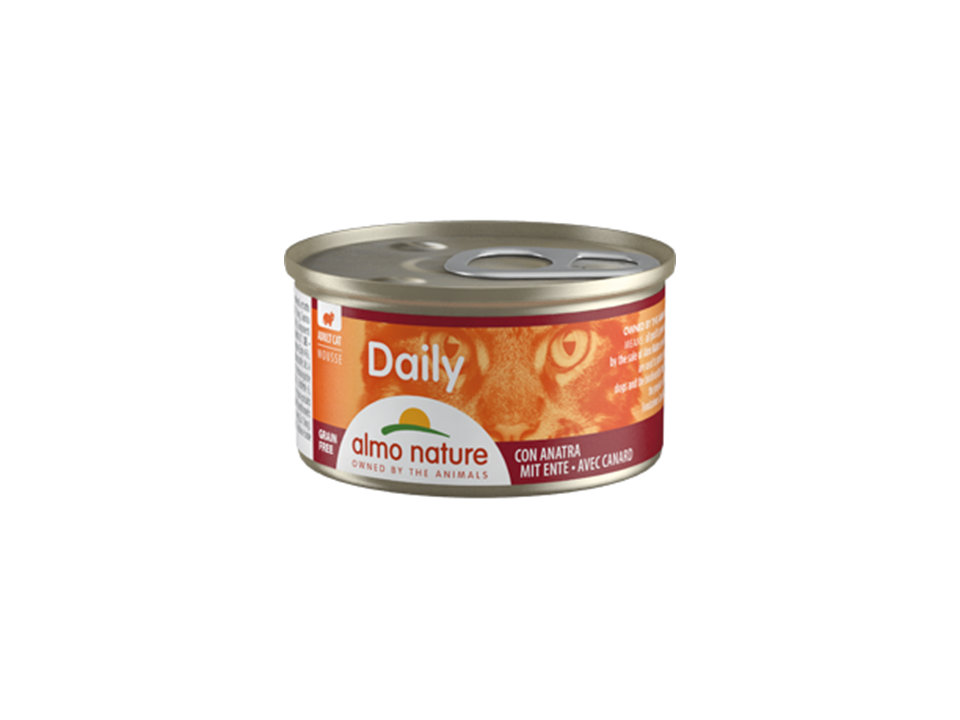 Almo Nature Cat Daily | Mousse | Pato