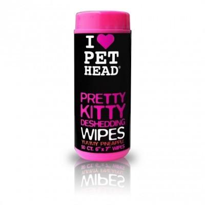 PET HEAD Pretty Kitty Wipes 50pcs
