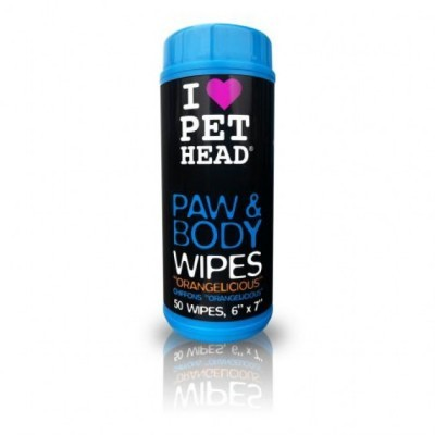 PET HEAD Paw E Body Wipes 50pcs