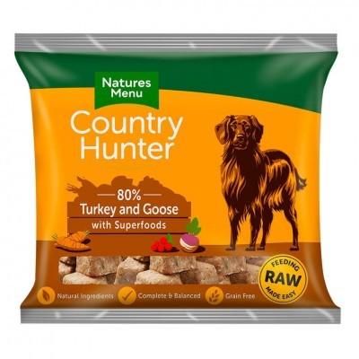 Country Hunter Cão / Nuggets congelados Perú & Ganso / Sem Cereais