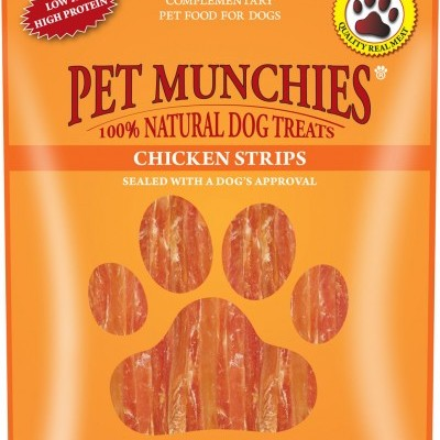 Pet Munchies Chicken Strips 90 g