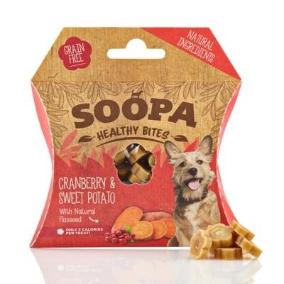 Soopa Healthy Bites: Mirtilho Vermelho & Batata Doce