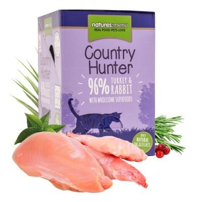Country Hunter Turkey & Rabbit | 6 x 85 g