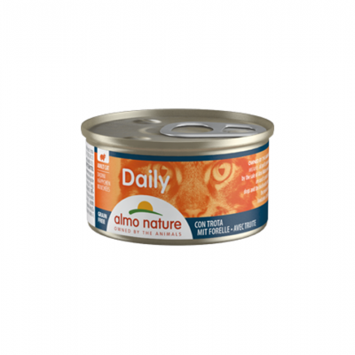 Almo Nature Cat Daily Diced | Cubos | Truta