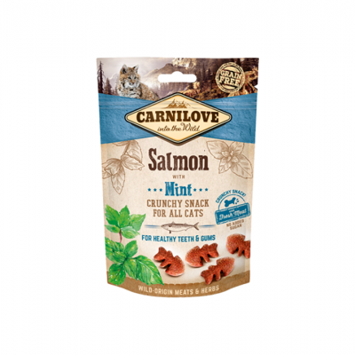 Cat Crunchy Snack Salmon with Mint | 50 g