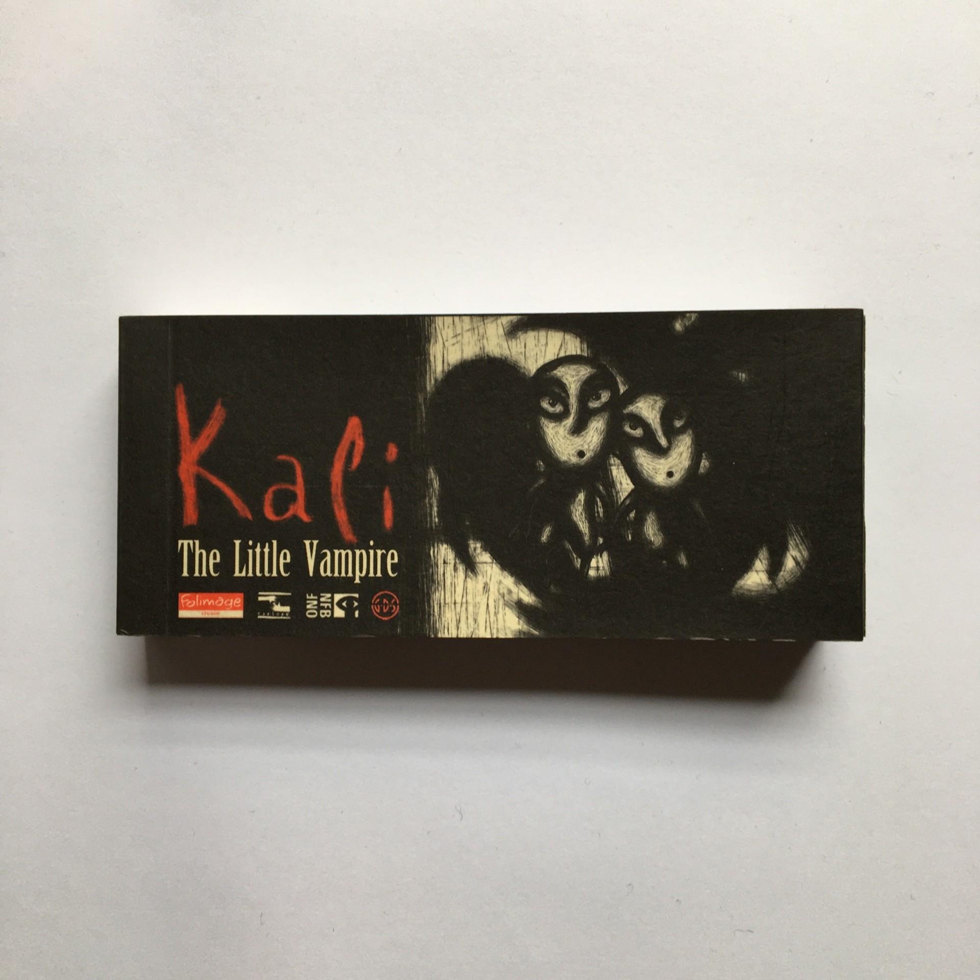 Flipbook Kali, The Little Vampire