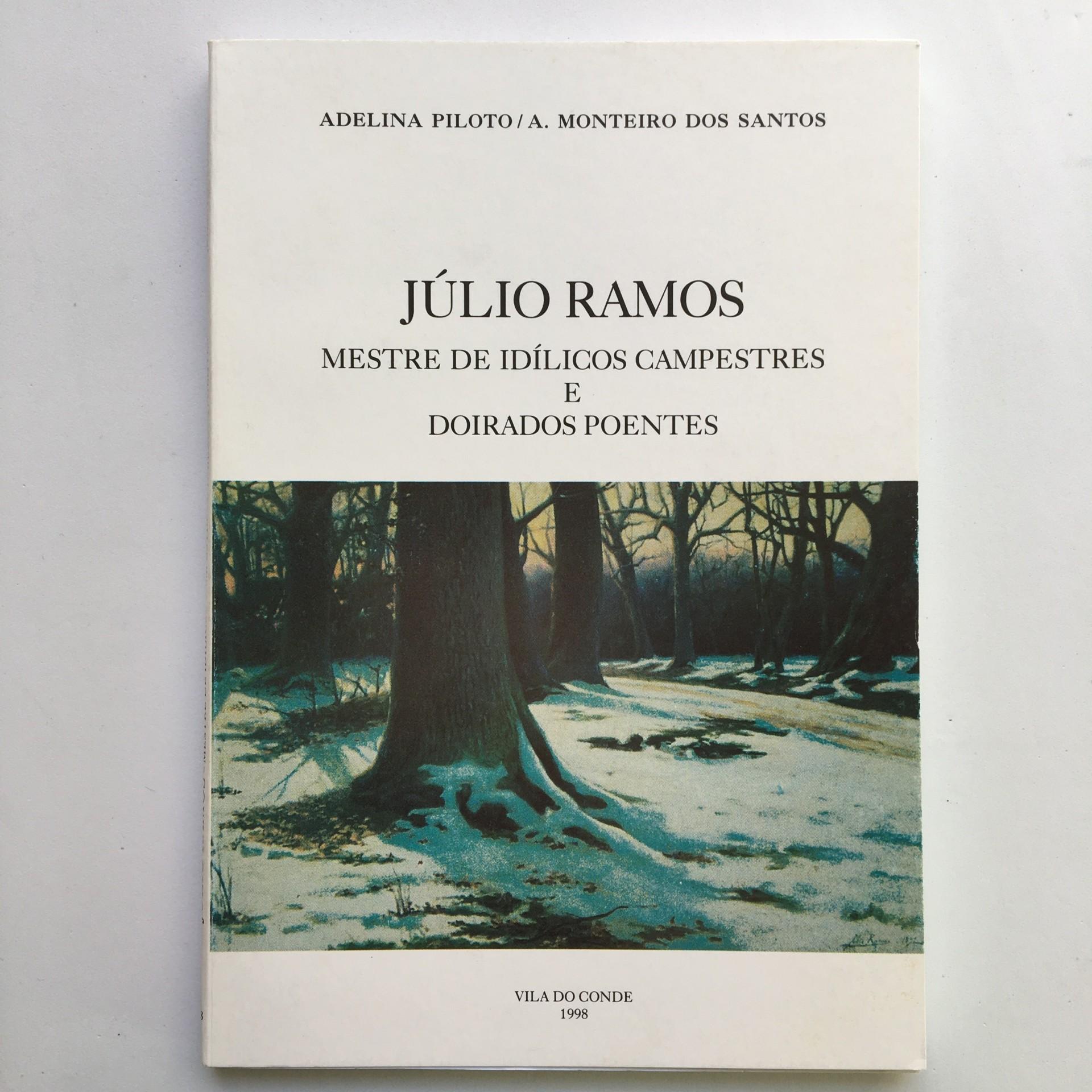 Júlio Ramos: mestre de idílicos campestres e doirados poentes