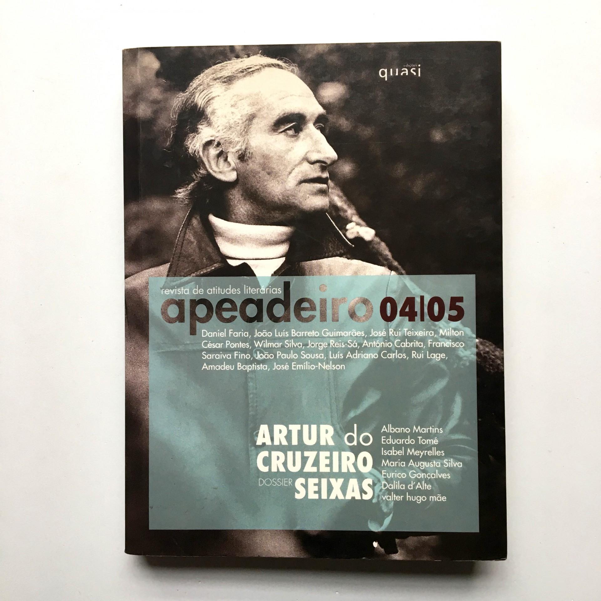 Apeadeiro 04/05 revista de atitudes literárias