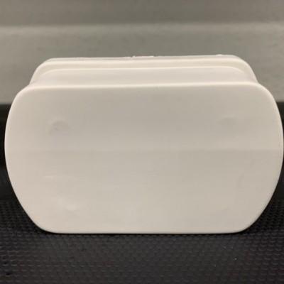 Tampão amovível para perfil furado 80 mm