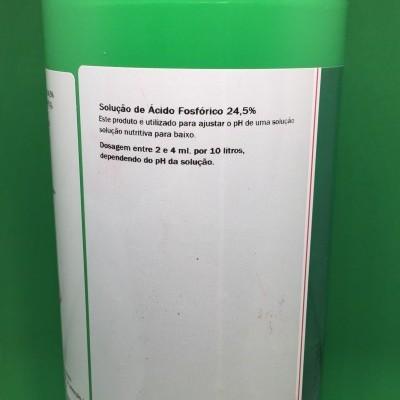 Solução para reduzir o pH 1 litro