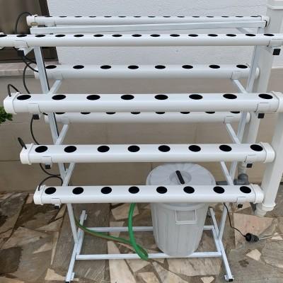 Hydro 70 Vertical Móvel + Curso + Medidor pH / EC + Espuma Fenólica
