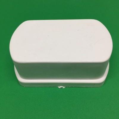 Tampão PVC amovível para perfil furado 80 mm
