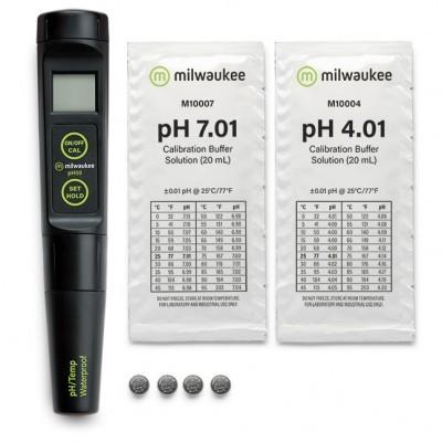 Medidor pH + Temperatura