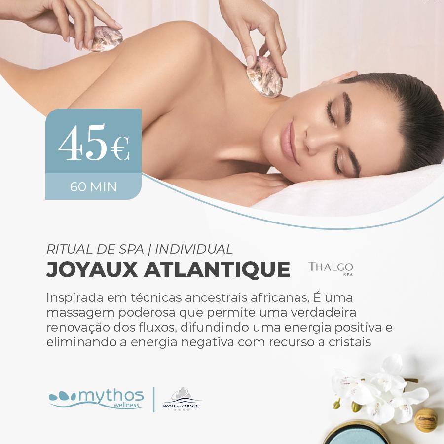 Massagem Joyaux Atlantique Thalgo