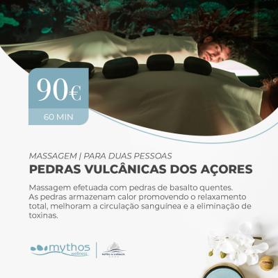 Massagem Vulcânica dos Açores para Duas Pessoas
