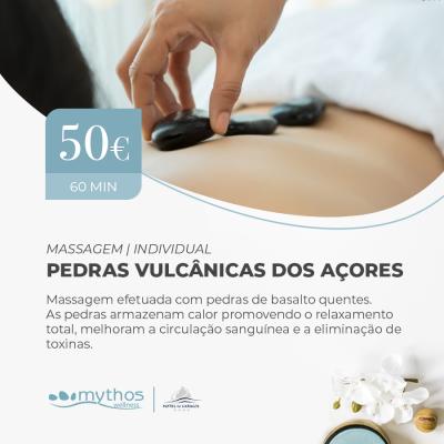 Massagem Pedras Vulcânicas dos Açores